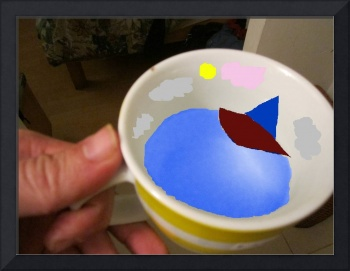 boat in a cup
