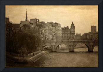 Paris and the Seine River