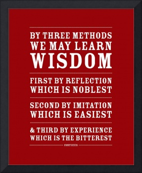Three Ways to Wisdom • Red