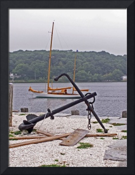 Anchor and Boat