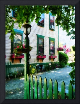 Lamp and Window Boxes