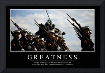 Greatness: Inspirational Quote and Motivational Po
