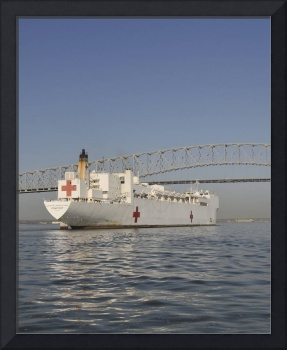 United States Navy Hospital Ship Comfort Baltimore