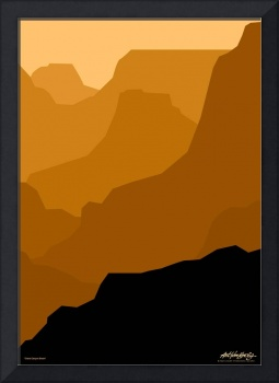 Grand Canyon - brown - Art Gallery Selection