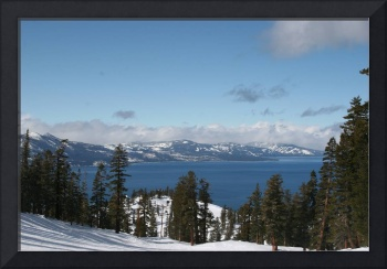 Lake Tahoe from the Ski trail