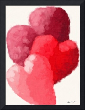 Hearts 2 Painterly
