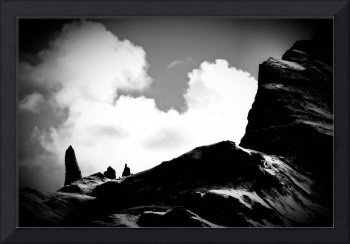 Old Man of Storr Silhouette