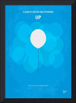 No134 My UP minimal movie poster