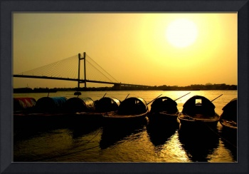 Sunset in Ganges