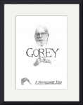 Edward Gorey Documentary Poster Print by Christopher Seufert