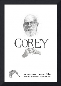 Edward Gorey Documentary Poster Print