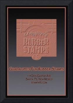 Guadalupe's Fun Rubber Stamps