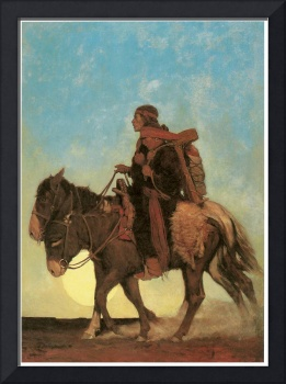 N. C. Wyeth's On the October Trail (Navaho Family)