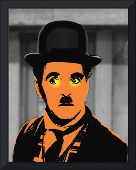 Charles Chaplin Charlot in The Great Dictator