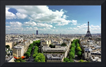 Paris City Scape
