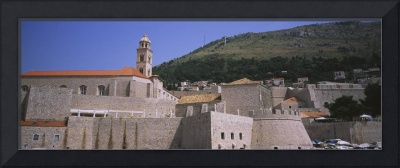 Dominican Monastery behind fortress wall