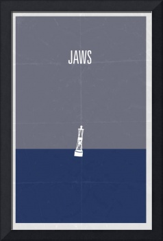 Jaws minimalist movie poster