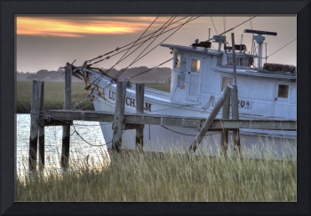 Shrimp Boat Sunset II