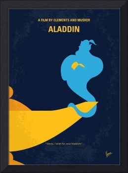 No920 My Aladdin minimal movie poster