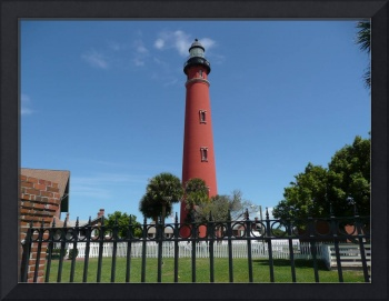 Red Lighthouse at Ponce Inlet, FLA 04