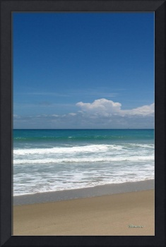 Treasure Coast Beach Seascape C4 Triptych L