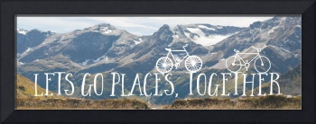 Let's Go Places Together II Wall Art
