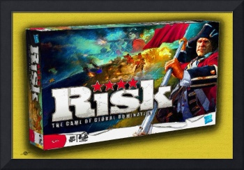 Risk Board Game Painting
