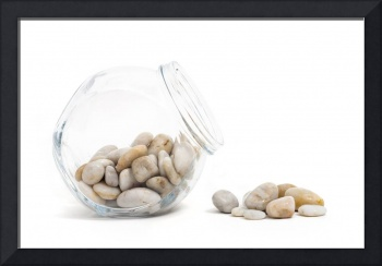 Pebbles and Jar