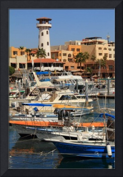 Harbor Waterfront in Cabo San Lucas, Mexico