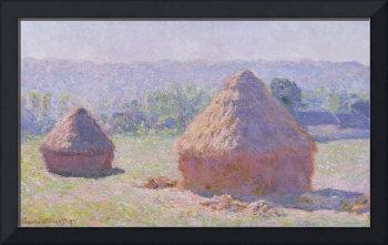 The Haystacks / The End of Summer, 1891, by Monet
