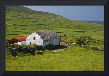 Lone Farmhouse On Mizen Head In West Cork County