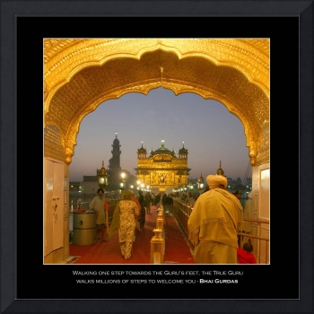 Golden Temple Entryway - With Quotes