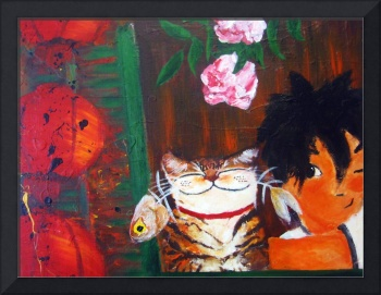 Cat art by catmaSutra - One Night in Chinatown