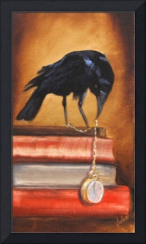 The Timekeeper- Raven Edgar Allen Poe by Violano