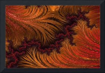 Liquid Gold - A Fractal Abstract
