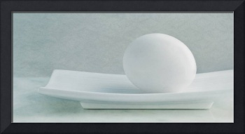 still life with an egg