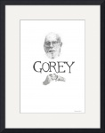 Edward Gorey Documentary Print by Christopher Seufert