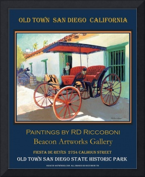 Old Town San Diego Poster