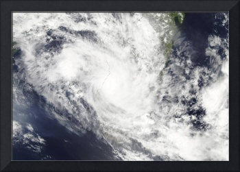 Tropical Cyclone Fami hovers over Madagascar and t