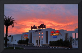 Movenpick Hotel at sunrise...