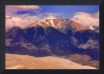 The Great Colorful Colorado Sand Dunes