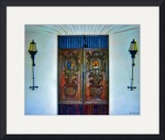Alamos Doorway #5 by John Corney
