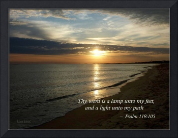 Psalm 119:105 Thy Word Is a Lamp