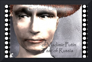 Cartoon Coronation of Vladimir Putin Tzar of...