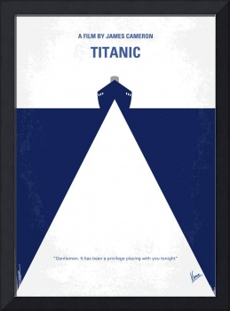 No100 My Titanic minimal movie poster