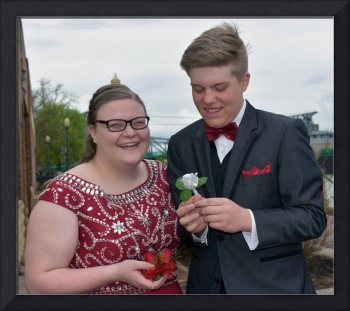 Tanner & Hannah Corsage & Boutonniere
