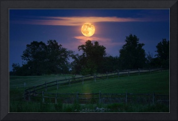 Supermoon Thunder Moon of July by Jim Crotty