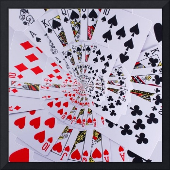 Poker Royal Flush All Suits Droste Spiral