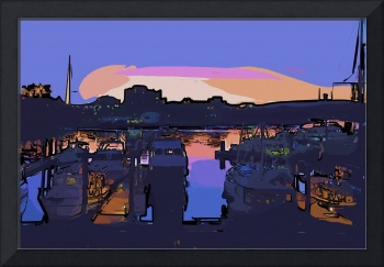 Dusk in the Harbor