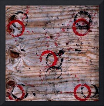 Paint Rings On Plywood